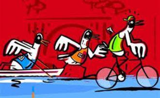 Triathlon  Grand raid des mouettes LA TRINITE SUR MER