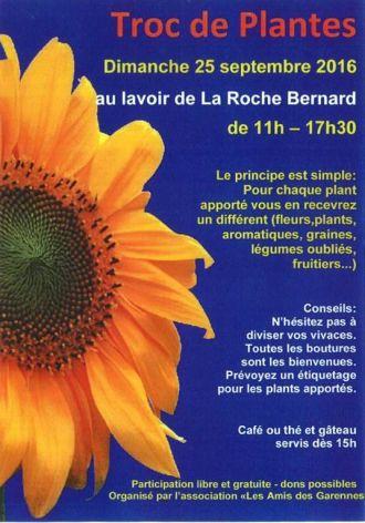 Troc de plantes - La Roche-Bernard LA ROCHE BERNARD