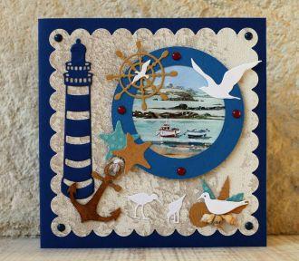 Atelier cartes créatives : ambiance mer ST GILDAS DE RHUYS