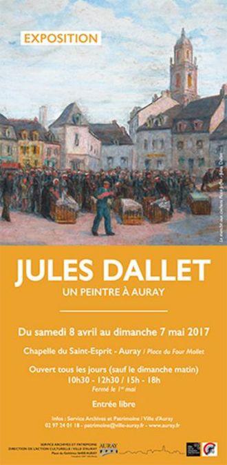 Exposition à la Chapelle du Saint-Esprit de Jules Dallet AURAY