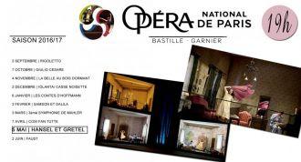 Ciné-Concert au Ti Hanok Auray - Opéra National de Paris  Hänsel et Gretel  de Humperdinck AURAY