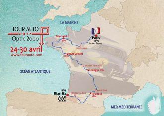 Tour Auto 2017 Optic 2000 - étape Rochefort-en-Terre ROCHEFORT EN TERRE