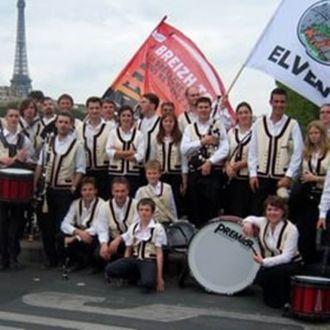 Fête bretonne et gallèse QUESTEMBERT