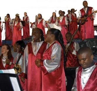 Les Gospel singers La Baule-Escoublac