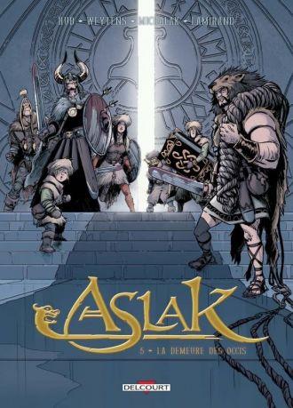 Emmanuel Michalak dédicace Aslak T5 (Editions Delcourt) Nantes