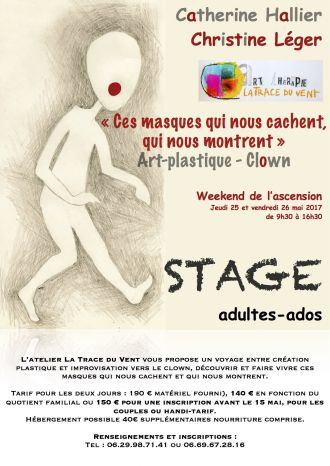 Stage : clown art-plastique Ploemeur