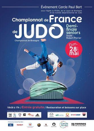 1/2 Finales du Championnat de France seniors de judo Rennes
