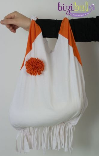 Transformer un tee-shirt en sac Sainte-Pazanne
