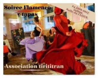Soirée espagnole (flamenco y tapas) Brest
