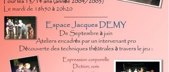 Atelier théâtre Divatte-sur-Loire