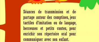 Eveil langage bébé « Moustacha voici mon chat » Nantes