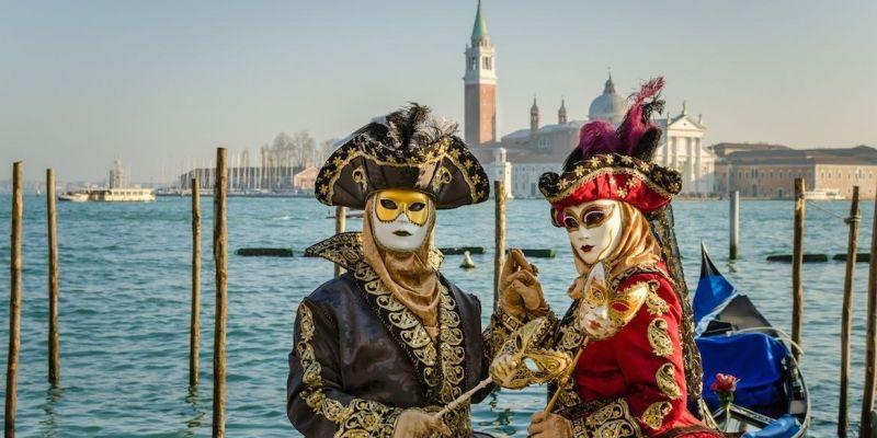 Variations sur le carnaval à Venise