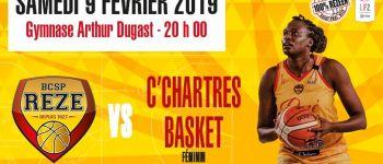 LF2 basket-club Saint-Paul Rezé contre Chartres Rezé