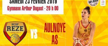 LF2 basket-club Saint-Paul Rezé contre Aulnoye Rezé