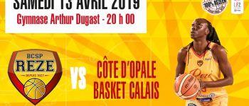 LF2 basket-club Saint-Paul Rezé contre Calais Rezé
