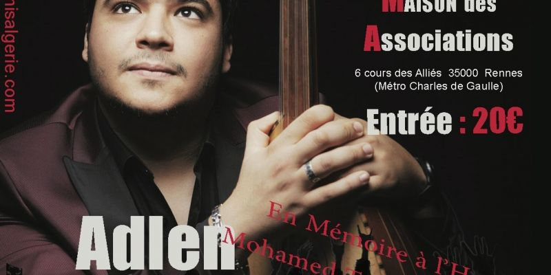 Adlen Fergani à Rennes, concert arabo-andalou : Malouf