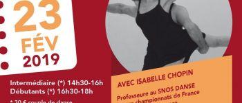 Stages de danses de salon latines Saint-Nazaire