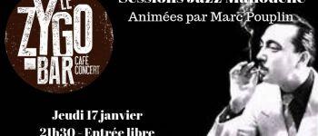 Session Jazz Manouche avec Marc Pouplin et ses invités Nantes