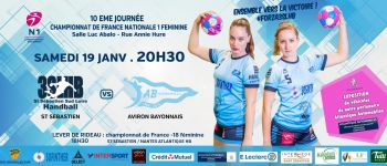 Saint-Sébastien Sud Loire handball Saint-Sébastien-sur-Loire