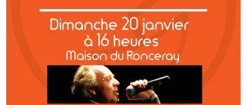 Dimanche spectacle Chanson française avec Philippe Poirier Rennes