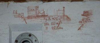 Les inscriptions murales à la Base de sous-marins Lorient