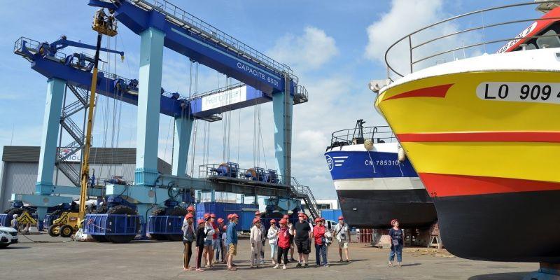 Secrets de navires : l'aire de réparation navale de Keroman