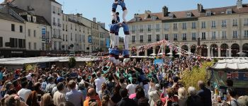 Festival Ay-roop : Castellers de Paris, On a la dalle Rennes