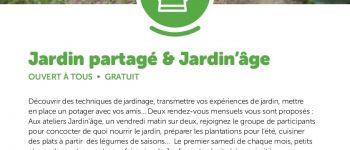 Atelier jardin partagé Chaumes-en-Retz