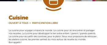 Ateliers de cuisine Chaumes-en-Retz
