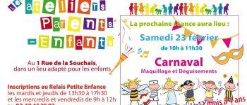Atelier parents-enfants de 12 mois à 4 ans Donges