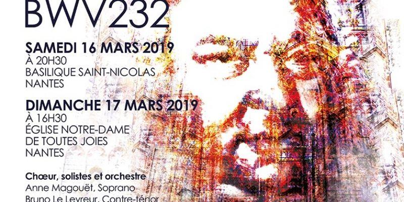 Chœur Anne de Bretagne : messe en si mineur de J.S. Bach
