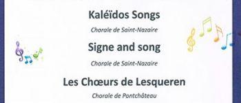 Concert de 150 choristes Le Croisic