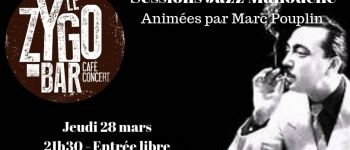 Session jazz manouche avec Marc Pouplin Nantes