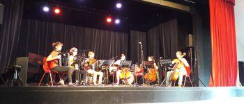 Représentation musicale des élèves de l'association la Clé de sol Guémené-Penfao
