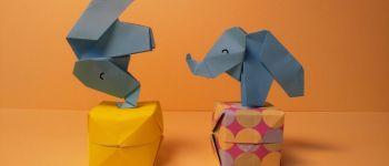 Atelier origami, médiathèque Malville