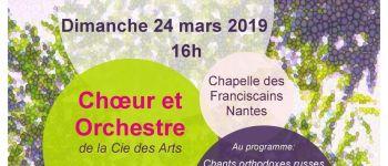 Choeur et Orchestre de la Cie des Arts Nantes