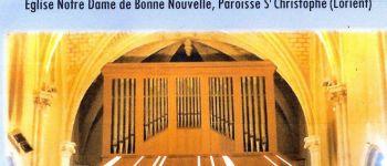Récital d'orgue par Teddy Garbet Lorient