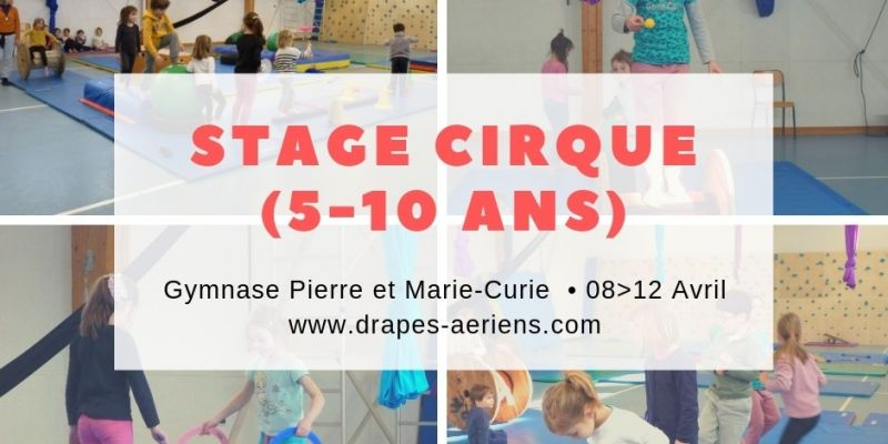 Stage cirque enfant (5 à 10 ans)