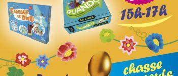 Chasse aux œufs, jeux, atelier dessin Pâques Nantes