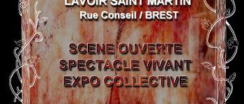 Scène ouverte, exposition collective et spectacle vivant Brest