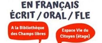 Accompagnement en français écrit, oral, FLE Rennes
