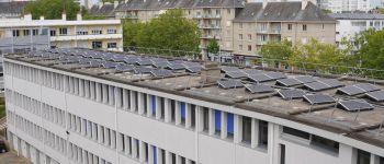 Semaine du développement durable : centrale photovoltaïque Lorient