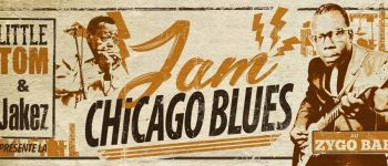 Session Chicago Blues avec Little Tom & Jakez + invités Nantes