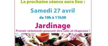 Atelier jardinage parents-enfants de 2 à 4 ans Donges