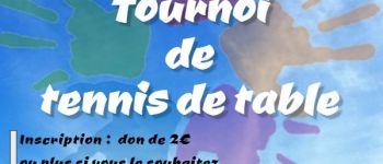 Tournoi de tennis de table : challenge J.C. Drouet Mouzillon