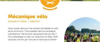 Atelier mécanique vélo Chaumes-en-Retz
