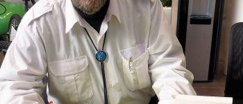 Dédicace de Guy Marcon pour son livre La route des dieux Bain-de-Bretagne