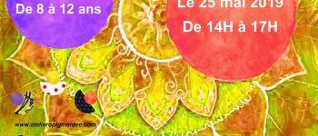 Stage de yoga et mandala créatif pour enfants Nantes