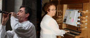 Concert bombarde et orgue avec Dédé Le Meut et Françoise Pasco Rennes