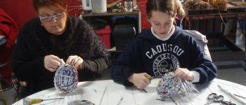Initiation à la vannerie de papier avec l'atelier Cistea Mesquer